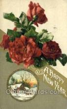 new001350 - New Years Eve Postcard Post Cards Old Vintage Antique