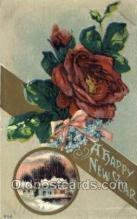 new001358 - New Years Eve Postcard Post Cards Old Vintage Antique