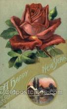 new001374 - New Years Eve Postcard Post Cards Old Vintage Antique