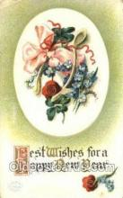 new001381 - New Years Eve Postcard Post Cards Old Vintage Antique