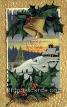 new001384 - New Years Eve Postcard Post Cards Old Vintage Antique