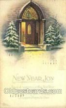 new001398 - New Years Eve Postcard Post Cards Old Vintage Antique
