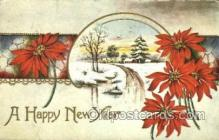 new001435 - New Years Eve Postcard Post Cards Old Vintage Antique
