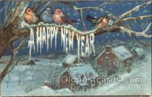 new001439 - New Years Eve Postcard Post Cards Old Vintage Antique
