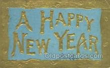 new001465 - New Years Eve Postcard Post Cards Old Vintage Antique