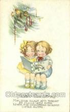 new001487 - New Years Eve Postcard Post Cards Old Vintage Antique