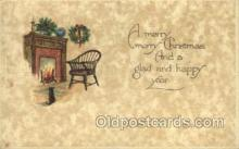 new001503 - Non Postcard Backing New Years Eve Postcard Post Cards Old Vintage Antique