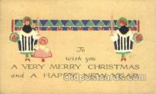new001506 - New Years Eve Postcard Post Cards Old Vintage Antique