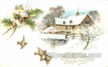 new001507 - New Years Eve Postcard Post Cards Old Vintage Antique