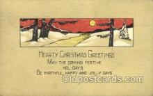 new001514 - New Years Eve Postcard Post Cards Old Vintage Antique