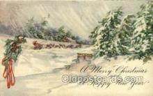 new001525 - New Years Eve Postcard Post Cards Old Vintage Antique