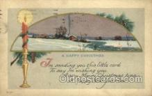 new001546 - New Years Eve Postcard Post Cards Old Vintage Antique