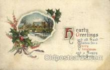 new001547 - New Years Eve Postcard Post Cards Old Vintage Antique