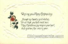 new001553 - New Years Eve Postcard Post Cards Old Vintage Antique