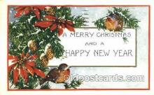new001555 - New Years Eve Postcard Post Cards Old Vintage Antique