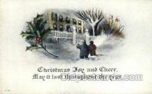new001567 - New Years Eve Postcard Post Cards Old Vintage Antique