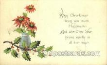 new001572 - New Years Eve Postcard Post Cards Old Vintage Antique