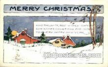 new001573 - New Years Eve Postcard Post Cards Old Vintage Antique