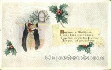new001587 - New Years Eve Postcard Post Cards Old Vintage Antique