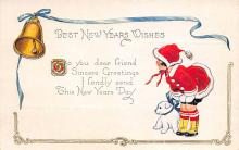 new002009 - New Years Day Postcards Old Vintage Antique Post Cards