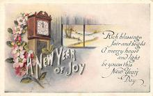 new002049 - New Years Day Postcards Old Vintage Antique Post Cards