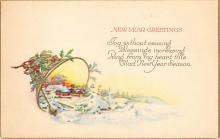 new002079 - New Years Day Postcards Old Vintage Antique Post Cards