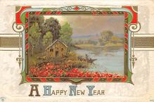 new002219 - New Years Day Postcards Old Vintage Antique Post Cards