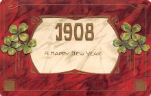 new002223 - New Years Day Postcards Old Vintage Antique Post Cards