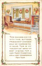 new002237 - New Years Day Postcards Old Vintage Antique Post Cards