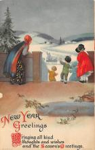 new002245 - New Years Day Postcards Old Vintage Antique Post Cards