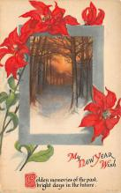 new002257 - New Years Day Postcards Old Vintage Antique Post Cards