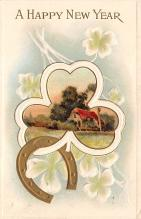 new002265 - New Years Day Postcards Old Vintage Antique Post Cards