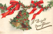 new002273 - New Years Day Postcards Old Vintage Antique Post Cards