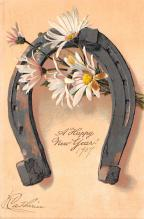 new002283 - New Years Day Postcards Old Vintage Antique Post Cards