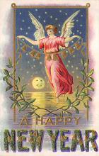 new002305 - New Years Day Postcards Old Vintage Antique Post Cards