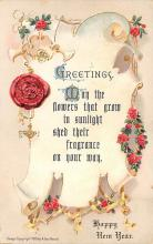 new002321 - New Years Day Postcards Old Vintage Antique Post Cards