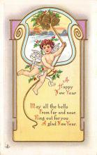 new002377 - New Years Day Postcards Old Vintage Antique Post Cards