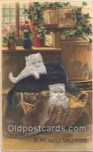 nov001002 - To My Sweet Valentine Novelty Postcard Post Cards Old Vintage Antique