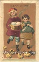 nov001003 - A Joyful Easter Novelty Postcard Post Cards Old Vintage Antique