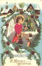 nov001006 - A Merry Christmas Novelty Postcard Post Cards Old Vintage Antique
