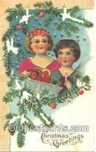 nov001007 - Christmas Greetings Novelty Postcard Post Cards Old Vintage Antique