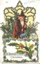 nov001028 - A Merry Christmas Novelty Postcard Post Cards Old Vintage Antique