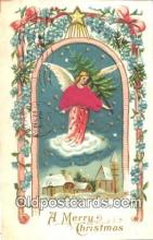 nov001046 - A Merry Christmas Novelty Postcard Post Cards Old Vintage Antique