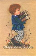 nov001064 - Artist Bonnie Novelty Postcard Post Cards Old Vintage Antique