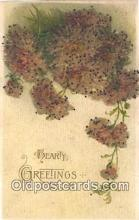 nov001077 - Hearty Greetings Novelty Postcard Post Cards Old Vintage Antique