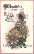 nov001083 - A Happy Easter Novelty Postcard Post Cards Old Vintage Antique