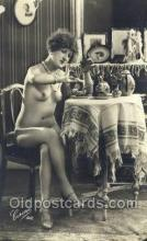 nud000029 - Non - Postcard Backing Real Photo Nude, Nudes Postcard Post Cards
