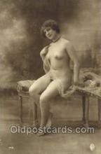 nud000036 - Non - Postcard Backing Real Photo Nude, Nudes Postcard Post Cards
