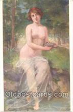nud001012 - Artist Gaston Gerard Nude, Nudes Postcard Postcards