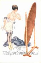 nud001013 - Artist Herouard Nude, Nudes Postcard Postcards
